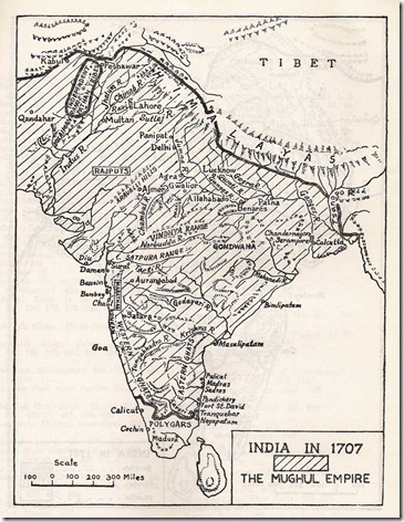 Mughal-map-from-India