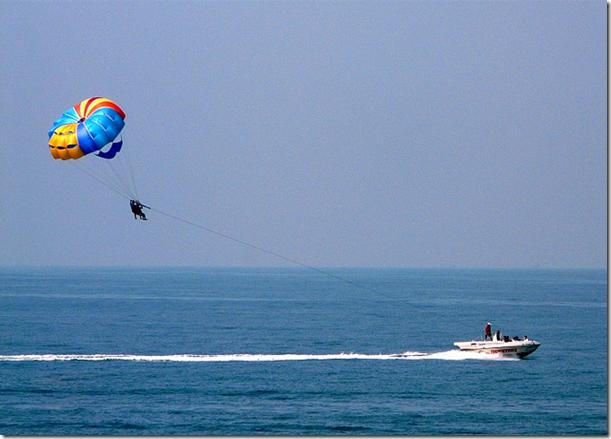Para-sailing -On Goa Beach