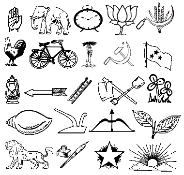 GOA ASSEMBLY ELECTION 2012 Party Symbols