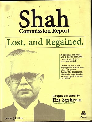 Shah Commission Report for pdf download Goa