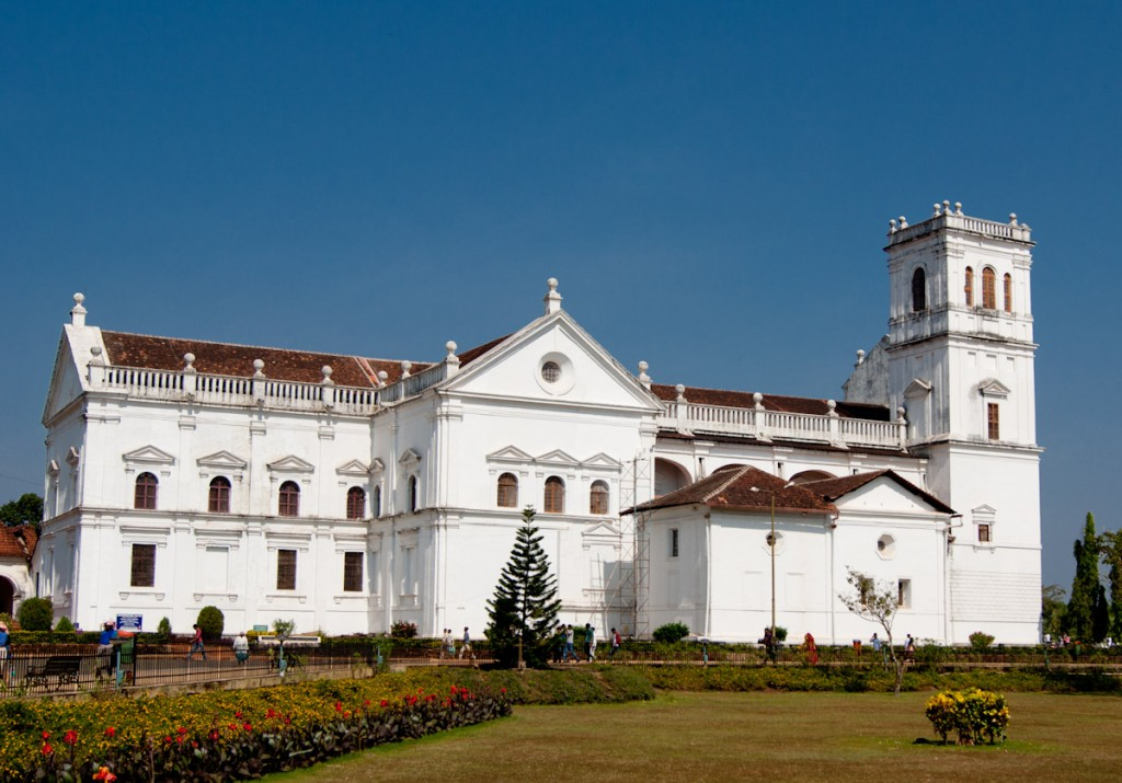 Portuguese churches in Goa  - Se Cathedral Church